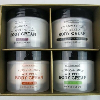Beekman Goat Milk Body Cream Gift Set
