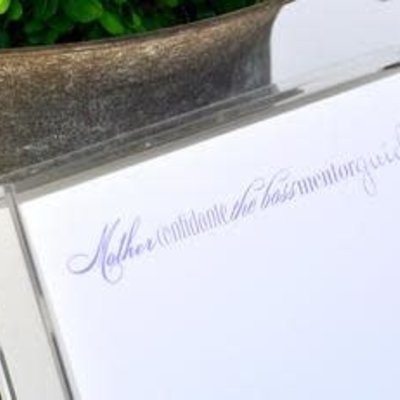 Black Ink Luxe Notepad Mother