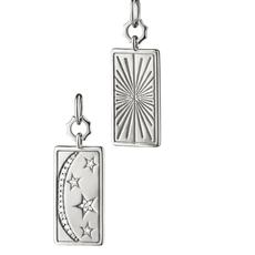 Monica Rich Sun, Moon, and Stars Medallion