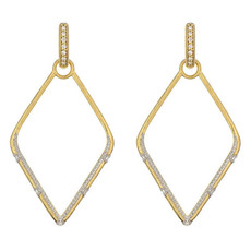 Jude Frances Lisse Large Simple Kite Earring Charms
