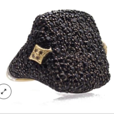 Armenta Old World Pave Signet Ring