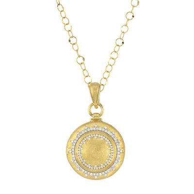 Jude Frances Provence Delicate Diamond Pave Beaded Trio Locket