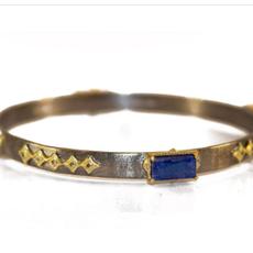 Armenta Moonstone and Diamond Bracelet