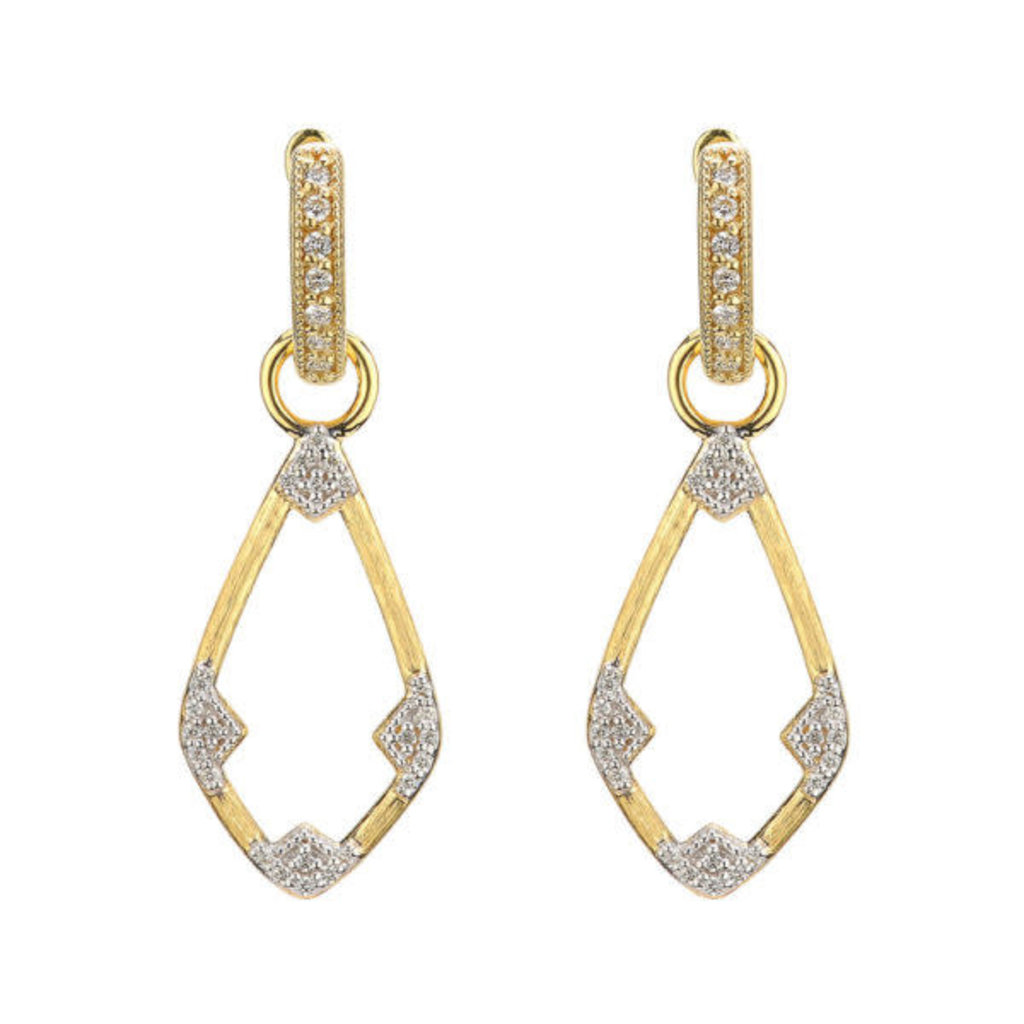 Jude Frances Lisse Small Open Kite Earring Charms