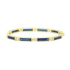 Freida Rothman Color Theory Baguette Bangle Blue