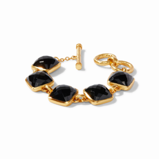 Julie Vos Catalina Stone Bracelet in Black Onyx