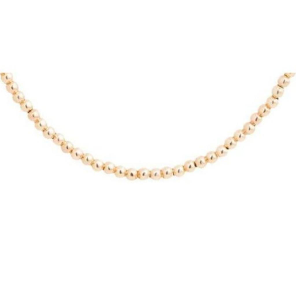 "enewton designs llc 15"" Choker Beaded Necklace 2mm in Gold"