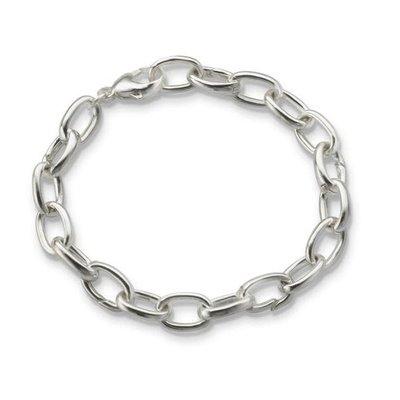 Monica Rich Charm Bracelet Hinged Links