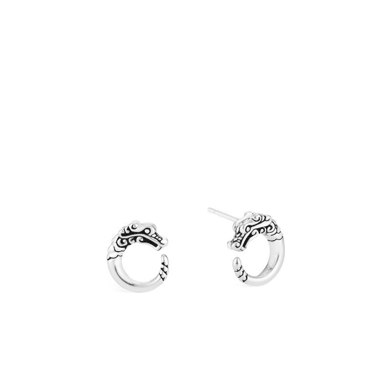 John Hardy Legends Naga Stud Earring