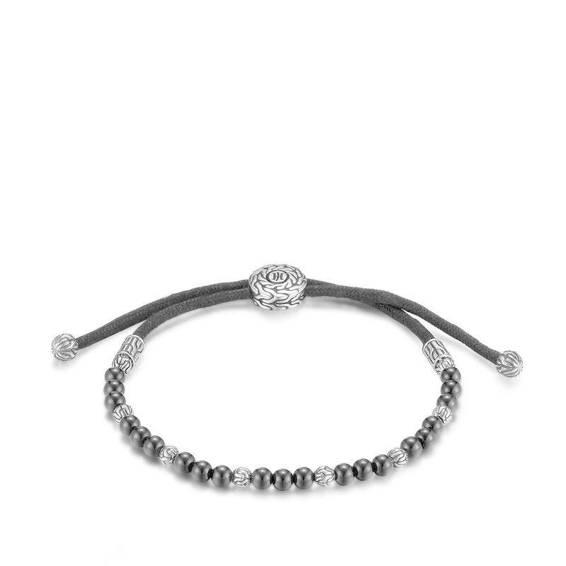John Hardy Men's Classic Chain Pull Through Bead Bracelet