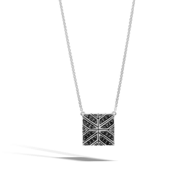 John Hardy Modern Chain Black Sapphire Necklace
