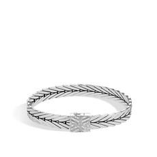 John Hardy Modern Chain 8MM Bracelet With Diamonds