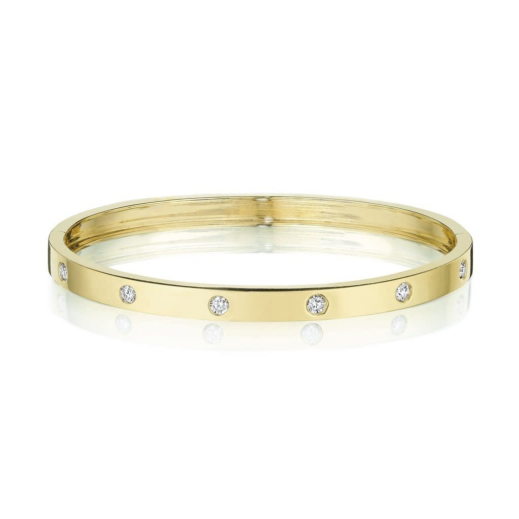 Penny Preville Round Station Moderne Bangle