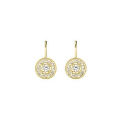 Penny Preville Pave Round Earrings