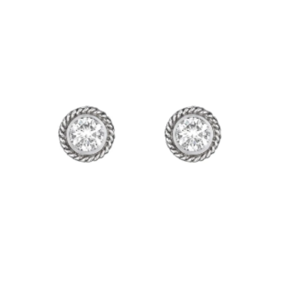 Penny Preville Round Stud Earrings