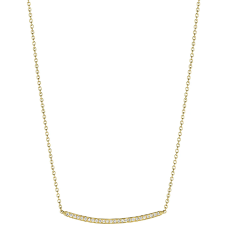 Penny Preville Petite Forever Bar Necklace