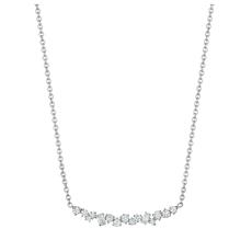Penny Preville Stardust Cluster Bar Necklace