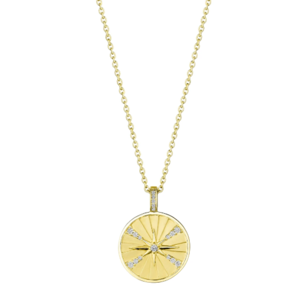 Penny Preville Starburst Medallion Necklace