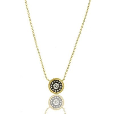 Freida Rothman Nautical Button Necklace