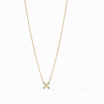 Julie Vos Paris X Delicate Necklace