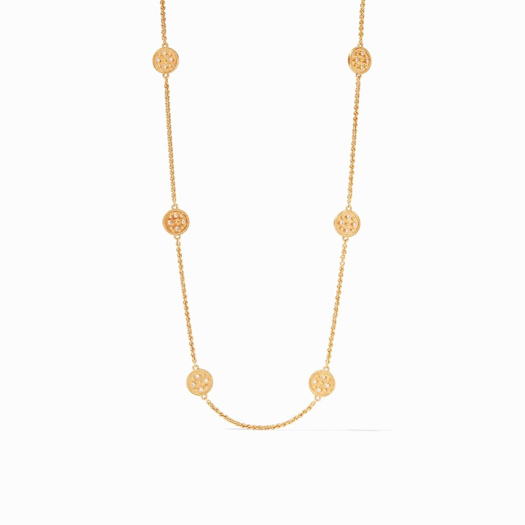 Julie Vos Coin Station Necklace