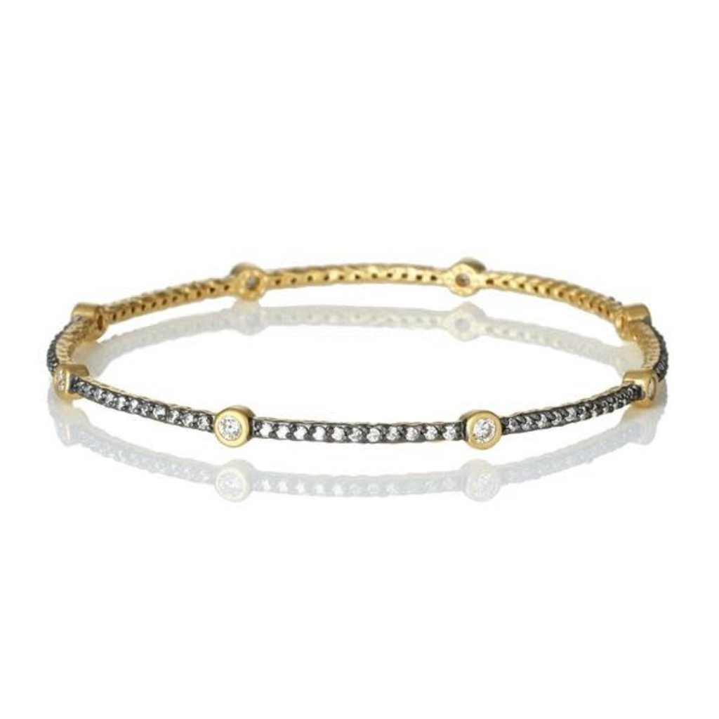 Freida Rothman Single Bezel Slide Bangle