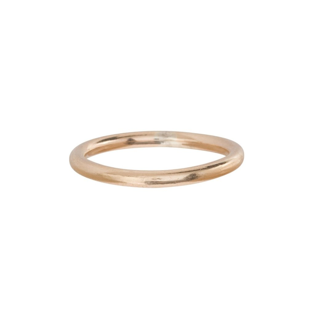 enewton designs llc Classic Band Ring Gold