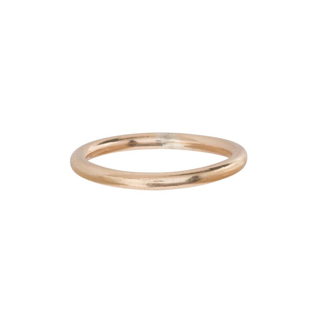 enewton designs llc Classic Band Ring Gold