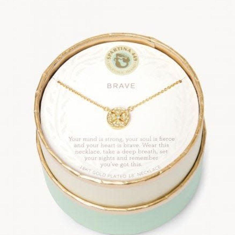 "Spartina 18"" Brave Medallion Necklace"