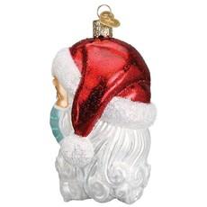 Old World Christmas Covid Santa