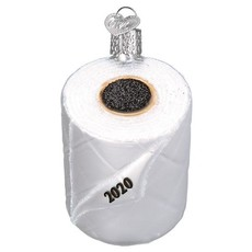 Old World Christmas 2020 Toilet Paper Ornament