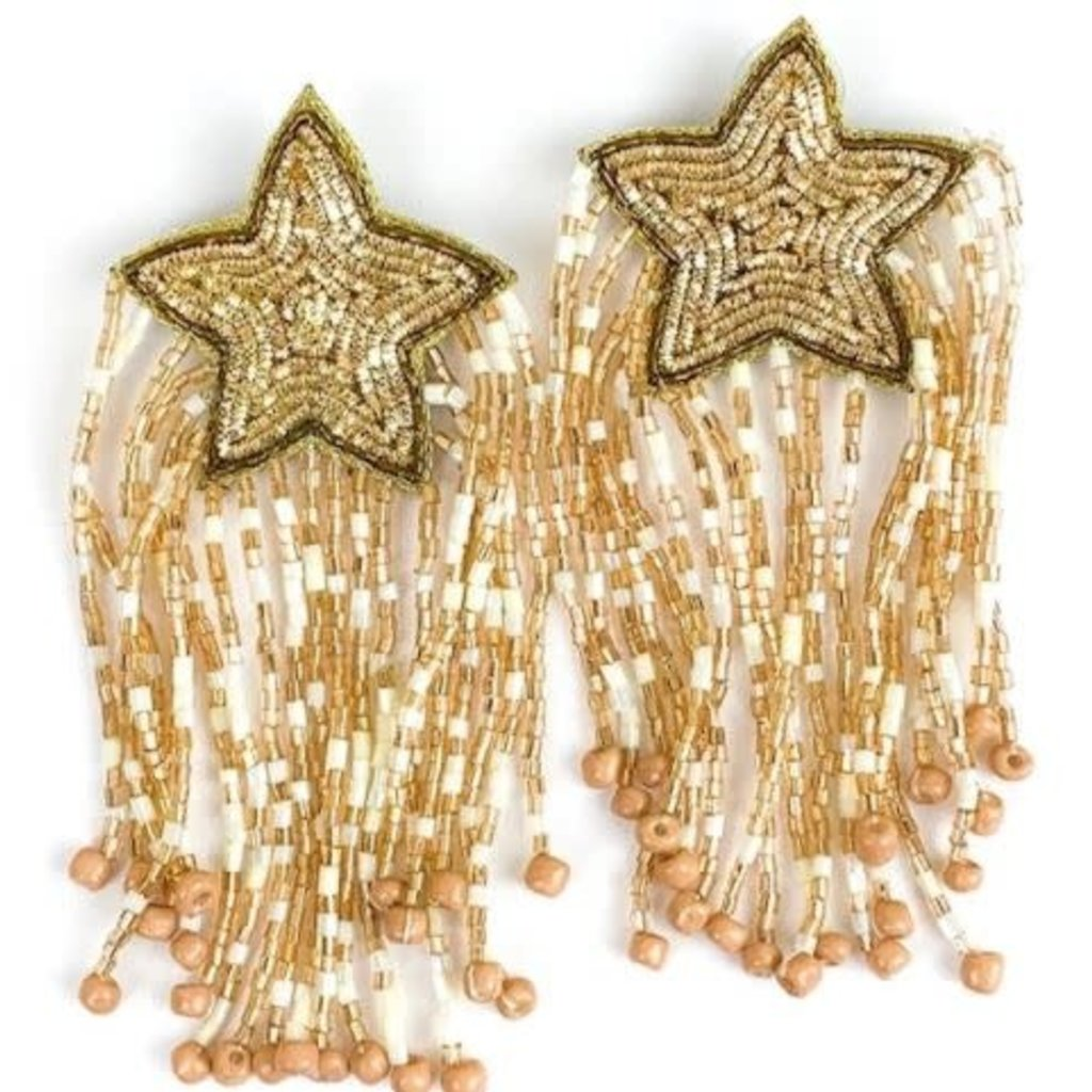 Allie Beads Shooting Star Earrings