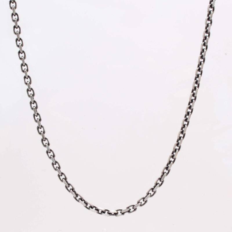 Armenta Sterling Box Chain 32""