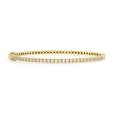 Jude Frances Provence Thin Eternity Diamond Bangle