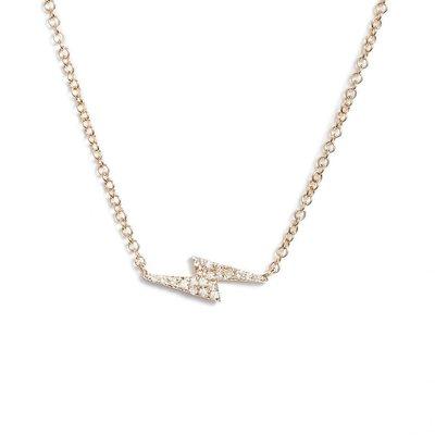 EF Collection Lightning Bolt Necklace