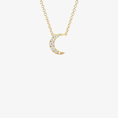 EF Collection Moon Choker Necklace
