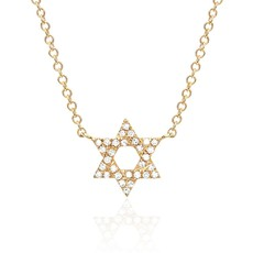 EF Collection Star Of David Necklace