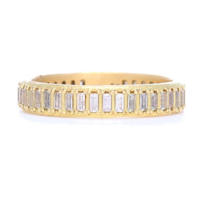 Armenta Sueno Sapphire Stack Ring Gold