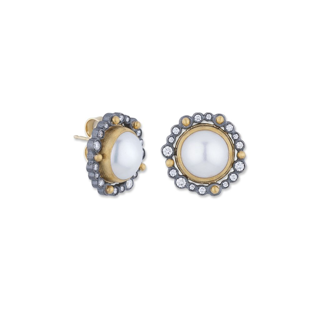 Lika Behar Collection Pearl Dylan Earrings
