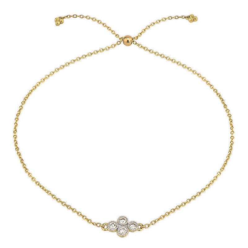 Jude Frances Petite Quad Chain Bracelet