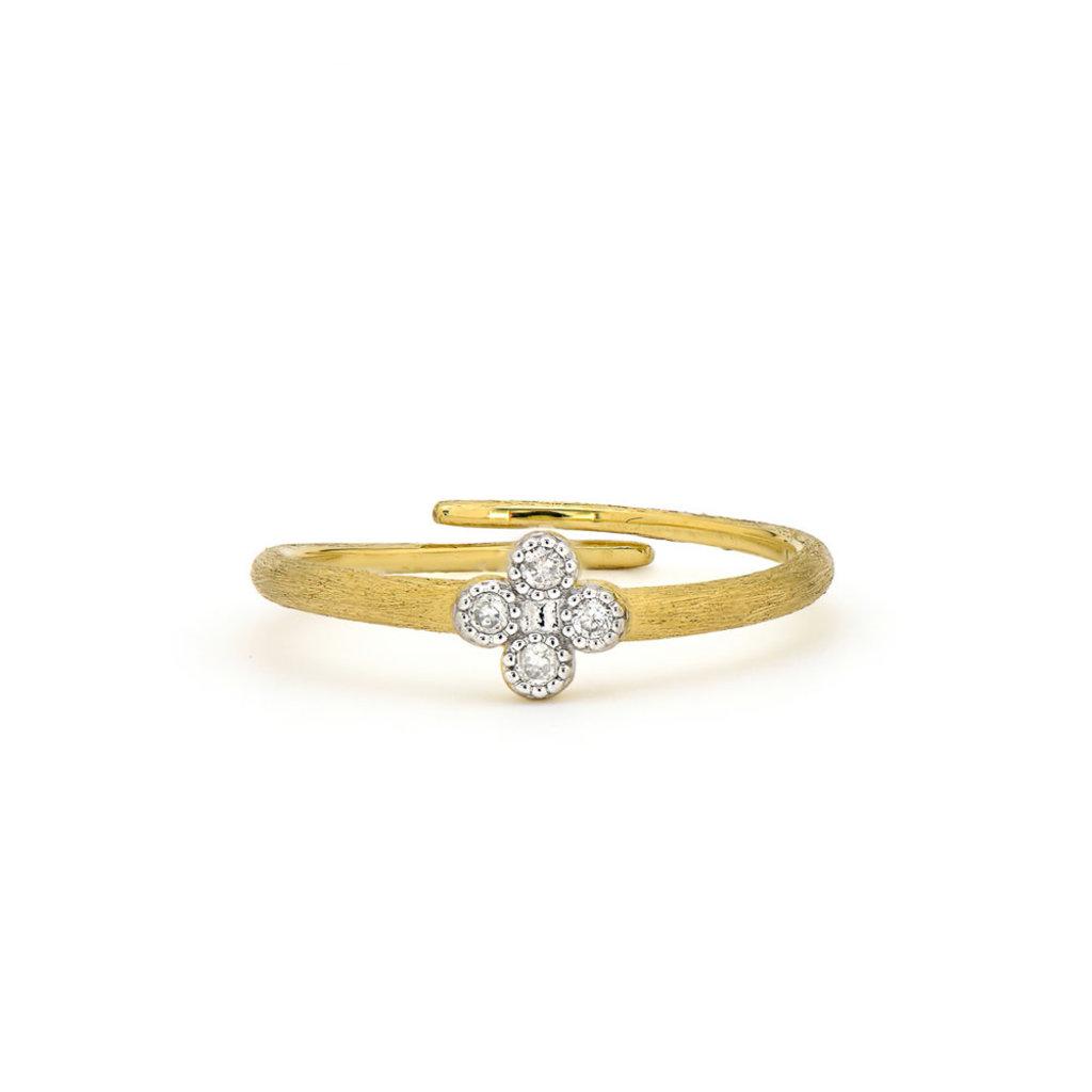 Jude Frances Petite Diamond Quad Midi Ring