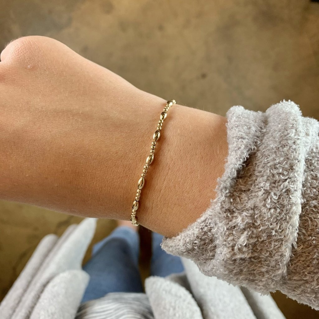 enewton designs llc enewton Harmony Sincerity Pattern 2mm Bead Bracelet