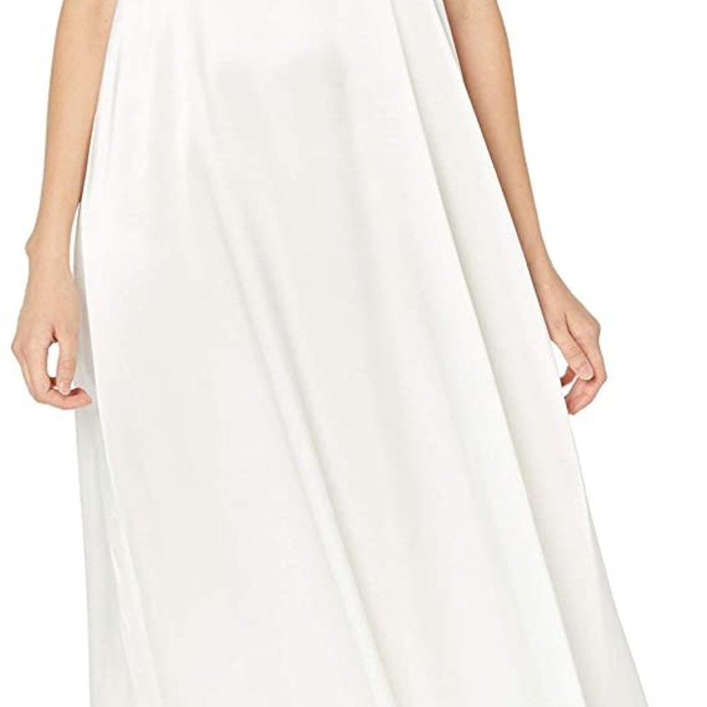 PJ Harlow Monrow Satin Long Adjustable Gathered Back Nightgown