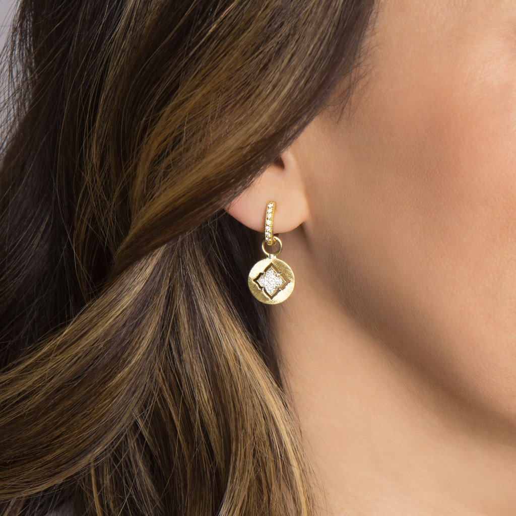 Jude Frances Moroccan Quatrefoil Earring Charms