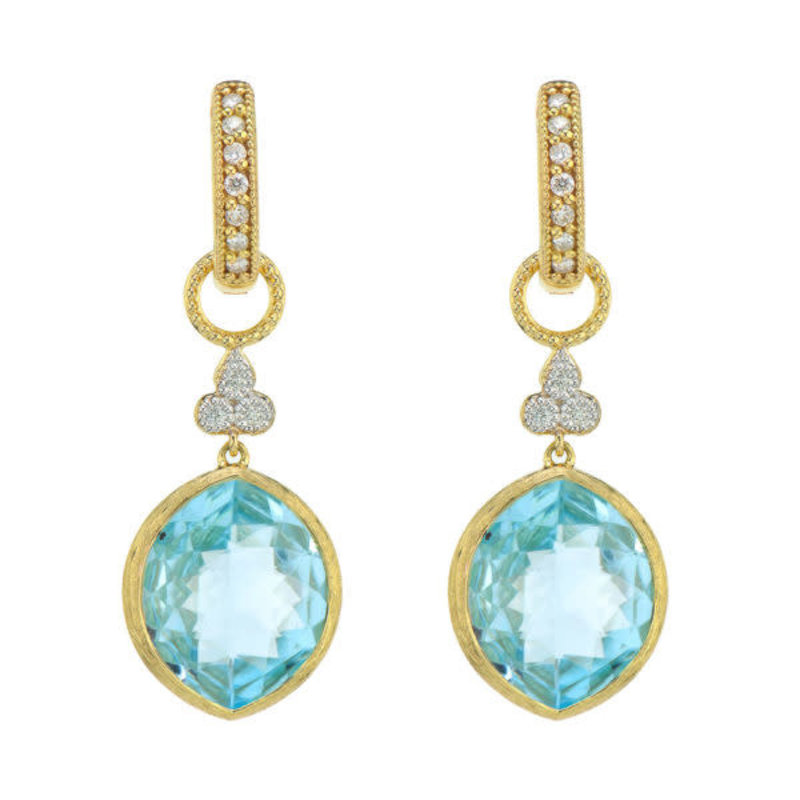 Jude Frances Provence Marquis Stone Trio Earring Charms