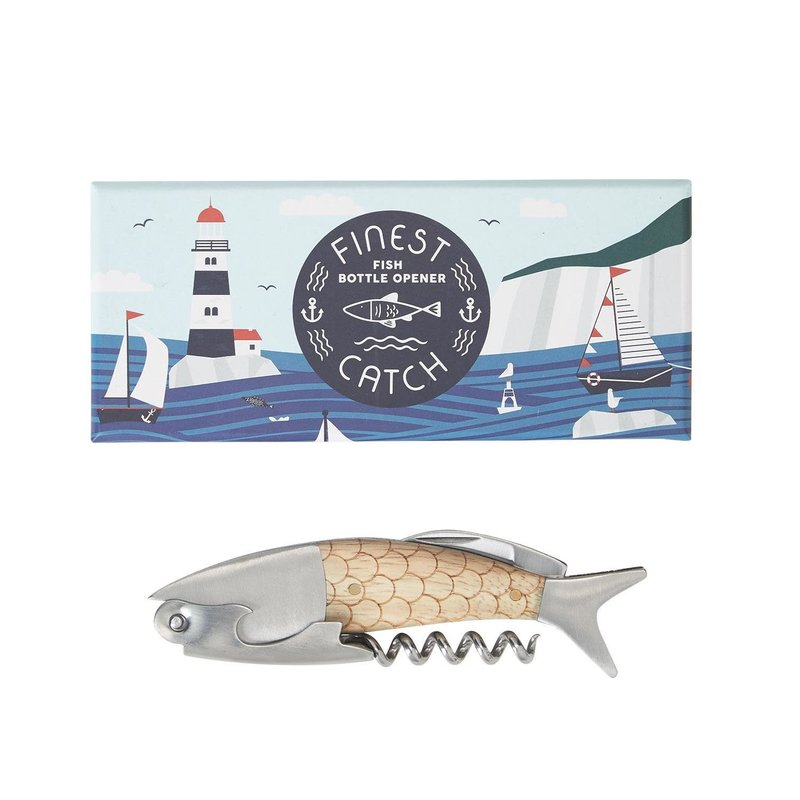 Two's Company 3 in 1 Fish Bottle Opener