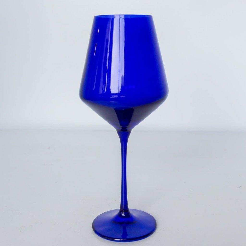 Estelle Colored Glass Estelle Colored Stemware Wine Glass