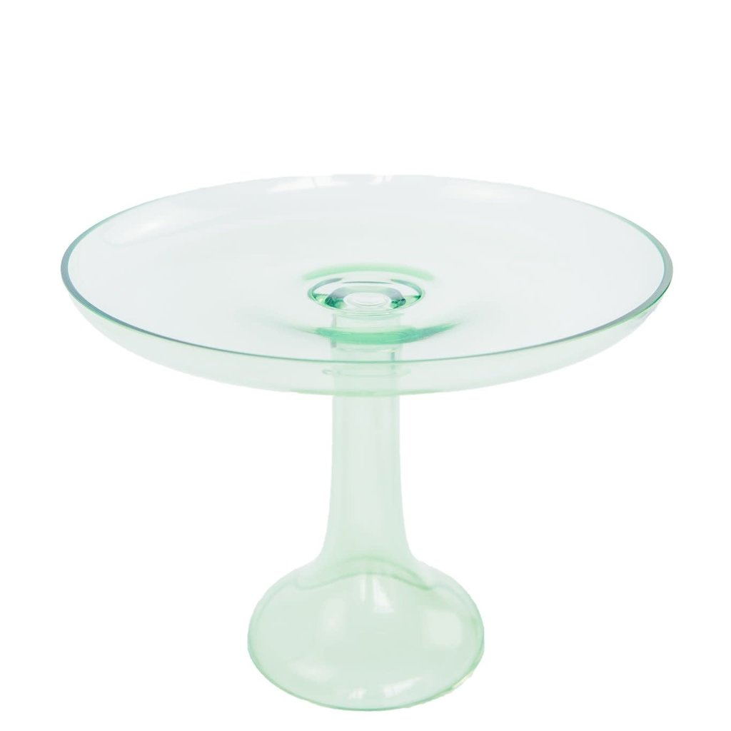 Estelle Colored Glass Estelle Colored Glass Cake Stand