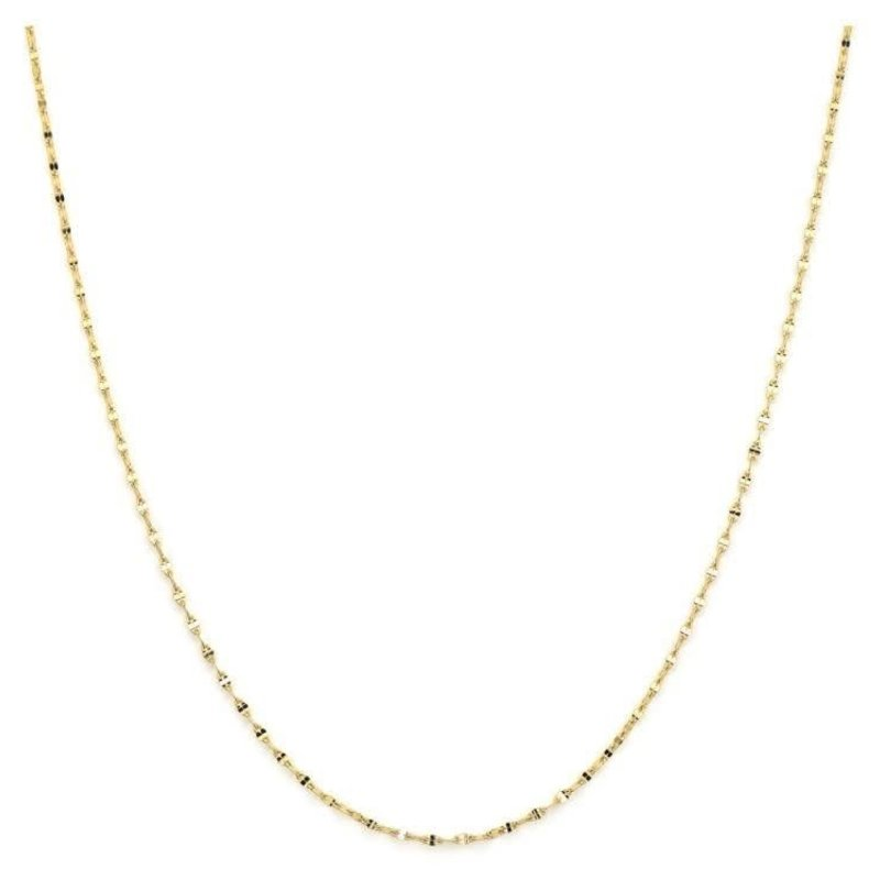 """Jude Frances Thin Twisted 18"""" Chain"""