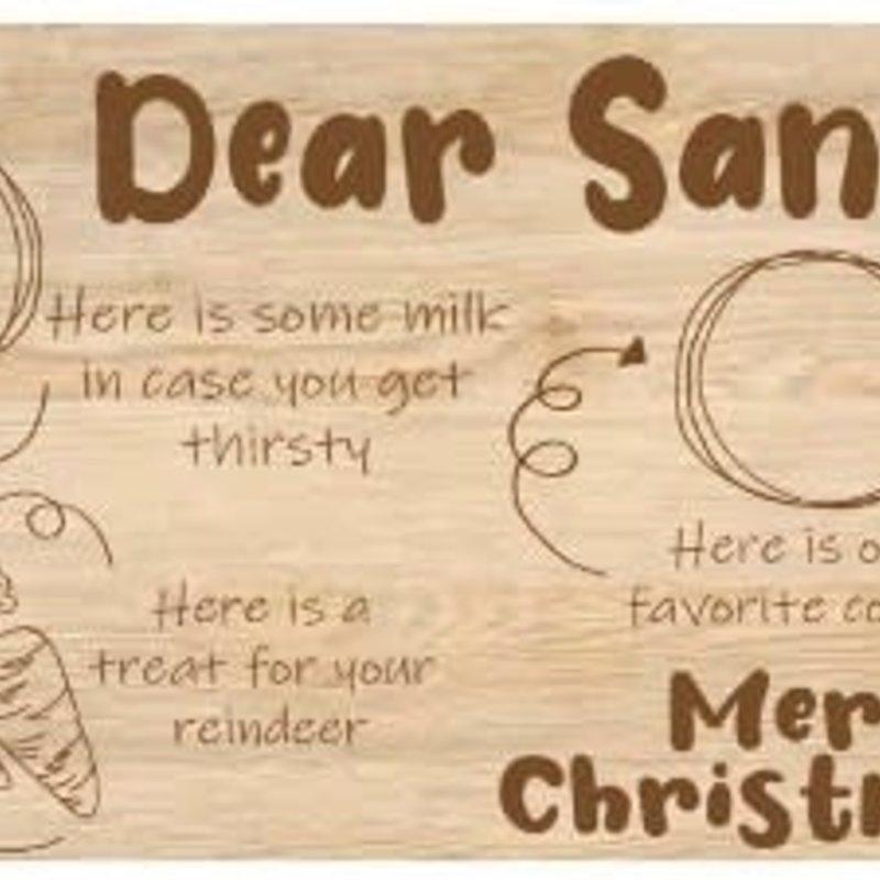 The Royal Standard Dear Santa Serving Board